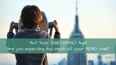 Act Your Executive Age!